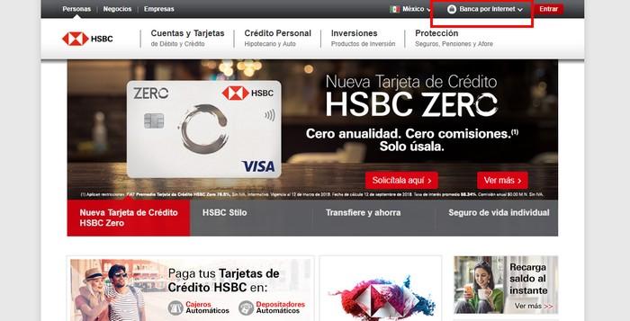 Estado de cuenta HSBC registro